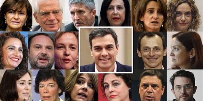 Este es el nuevo Gobierno de Pedro Sánchez