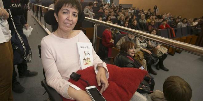 Las emotivas palabras de LA ATARFEÑA María José Díaz, enferma de ELA: «Disfrutad, comed y vivid, que es tan bonito»