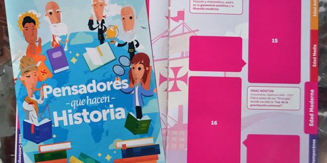 Grupo de Trabajo del CEIP Juan Pablo I, de Valderrubio: 'Frases para pensar que hacen historia'