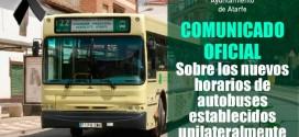 Los autobuses metropolitanos a partir del lunes