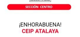 EL CEIP ATALAYA  CONSIGUE EL PREMIO «EDUCATIVIDAD»