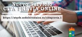 EL AYUNTAMIENTO DE ATARFE PONE EN MARCHA UN SERVICIO DE CITA PREVIA ONLINE