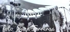 Rafael Alberti en Fuente Vaqueros, en el homenaje a Federico