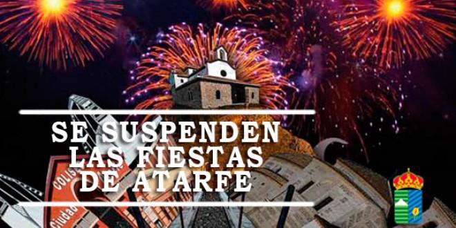 Se suspenden las Fiestas de Atarfe
