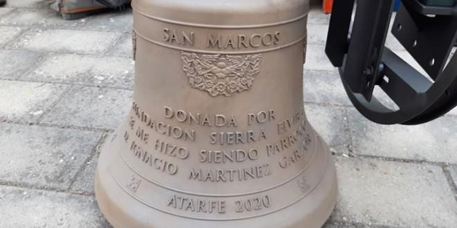 ATARFE: CAMPANA DONADA POR LA FUNDACIÓN SIERRA ELVIRA