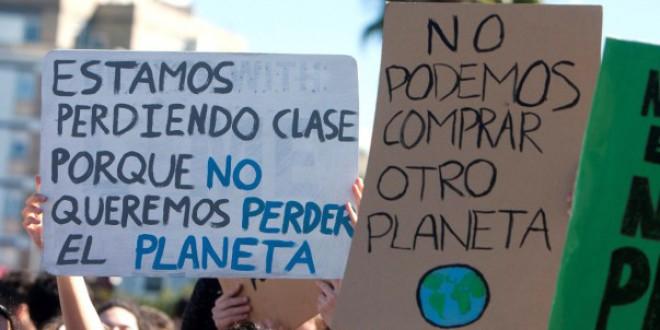 Los jóvenes retomarán en otoño sus protestas en defensa del clima