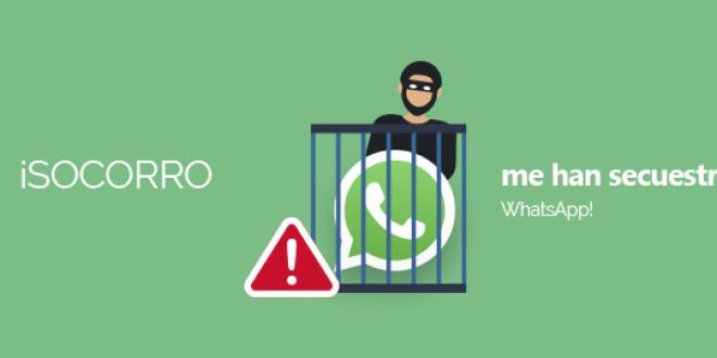 ¡Socorro me han secuestrado WhatsApp!