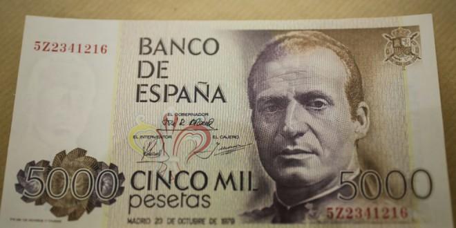 El Gobierno amplía hasta el 30 de junio de 2021 el plazo para canjear pesetas