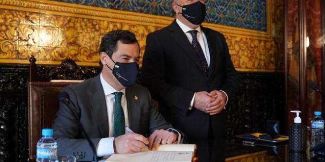 Moreno pide al Gobierno pensar en un confinamiento total y confirma que cerrará la movilidad en Andalucía