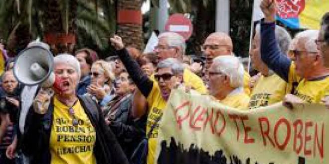 Organizaciones feministas denuncian que 20 de las 21 recomendaciones del Pacto de Toledo dan la espalda a las mujeres