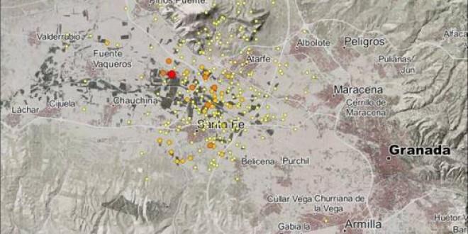Atarfe y Santa Fe han sufrido cerca de 300 terremotos en menos de dos meses