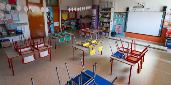 5.079 alumnos han faltado a clase en el primer trimestre en Granada