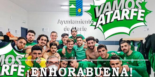 El Atarfe empata en Baeza y jugará por el ascenso, 1-1