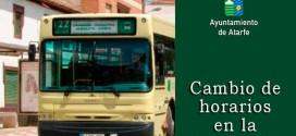CAMBIO DE HORARIOS EN LA LÍNEA 117 DEL AUTOBÚS METROPOLITANO