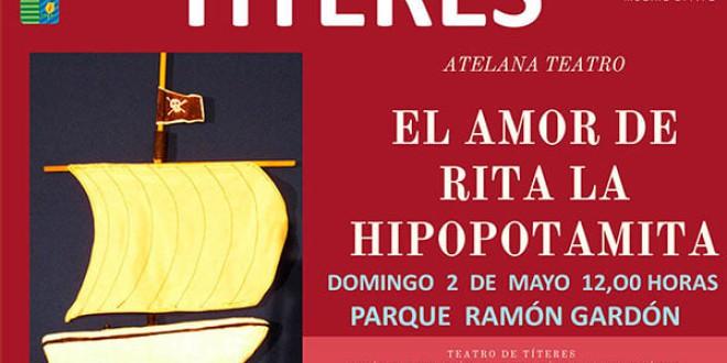 ATARFE: TEATRO DE TÍTERES «EL AMOR DE RITA LA HIPOPOTAMITA»