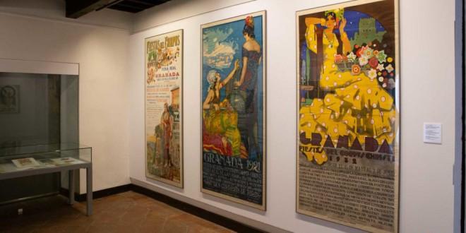 La exposición 'Del muro al museo' saca del archivo los carteles de una Granada de otro tiempo