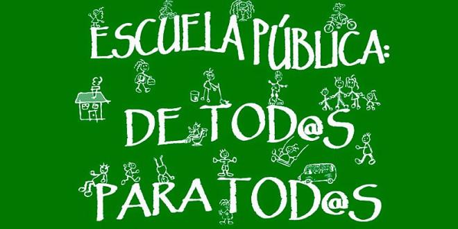 MANIFIESTO EN DEFENSA DE LA EDUCACIÓN PÚBLICA ANDALUZA Y CONTRA LAS POLÍTICAS DE PRIVATIZACIÓN. Adhesiones individuales.