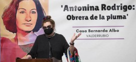 Antonina Rodrigo: «Federico García Lorca es una maravilla del mundo»