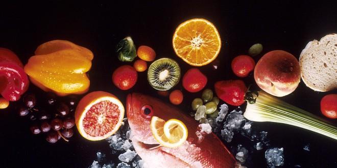 Tabla de frutas y verduras de temporada