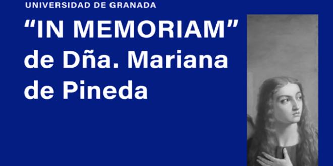 """La Universidad de Granada dedica una sala del Palacio de La Madraza a Mariana de Pineda, por su """"defensa de la libertad y los derechos individuales y colectivos"""""""