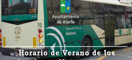 ATARFE: HORARIOS DE VERANO DE LOS AUTOBUSES METROPOLITANOS