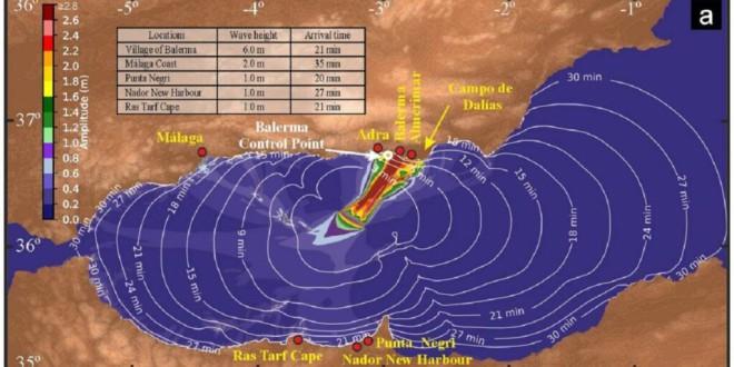 Descubren una fuente de tsunamis que amenaza Almería, Granada y Málaga