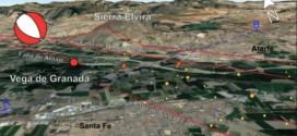 Científicos de la UGR aportan nuevos datos sobre el sistema de fallas en el que se produjo el enjambre sísmico de la Vega de Granada en enero de 2021