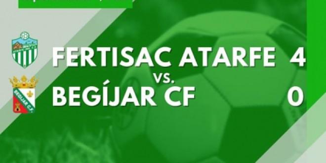 El Atarfe encarrila su pase a semifinales, 4-0 en la COPA DE ANDALUCIA