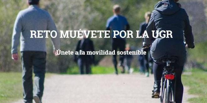 RETO MUEVETE POR LA UGR: UNETE A LA MOVILIDAD SOSTENIBLE