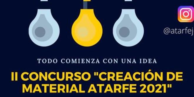 ATARFE: ABIERTO EL PLAZO DE PRESENTACIÓN DE PROYECTOS PARA EL II CONCURSO «CREACIÓN DE MATERIAL ATARFE 2021»