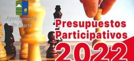 ATARFE: Presupuestos Participativos Atarfe 2022: Reuniones de Barrio